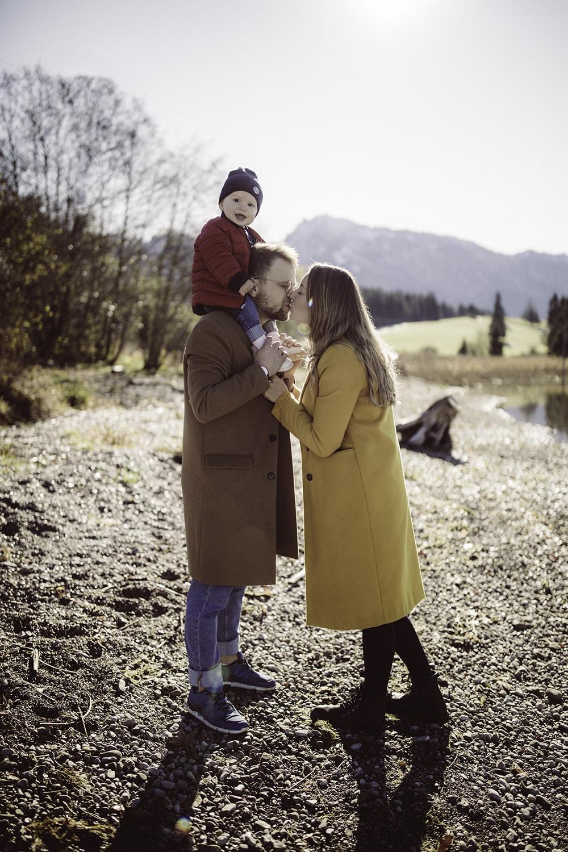 Familienportraits Allgäu Füssen